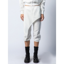 White linen trousers Isso
