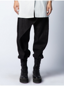 Black linen trousers Isso