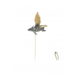 Pin cu porcusor zburator Bizar Concept