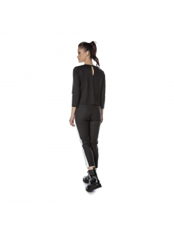 Black slim trousers Entino
