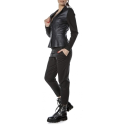 Black knitted trousers Entino