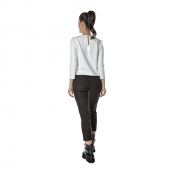 White top with digital print Entino