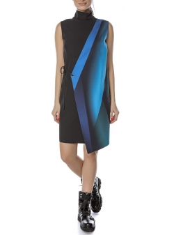 Mini dress with digital print Entino