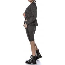 Black cotton trousers Entino