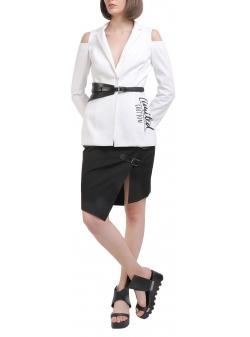 White cotton jacket Entino