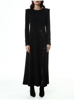 Printed asymmetric cotton blouse Una-i Luna
