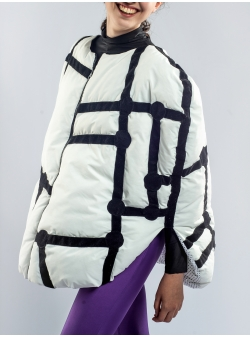 White Mondrian Cape