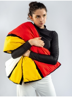 Fular multicolor Mondrian Z Puffers