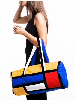 Mondrian Gym Bag Z Puffers