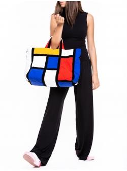 Medium Mondrian Bag Z Puffers