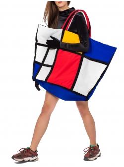 Oversized Mondrian Bag Z Puffers