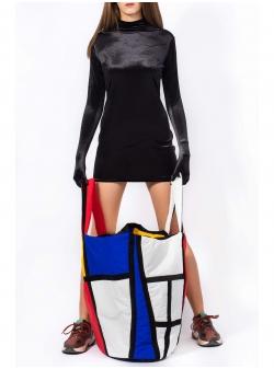 Geanta supradimensionata Mondrian Z Puffers