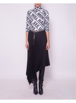 Black Dot Skirt Venera Arapu