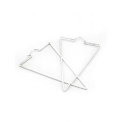 Cercei Shapes Collection- Triunghi Gabriela Seacrea