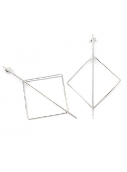 Rhombus Earrings Gabriela Secarea