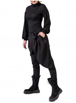 Pantaloni cu volane asimetrice Florentina Giol