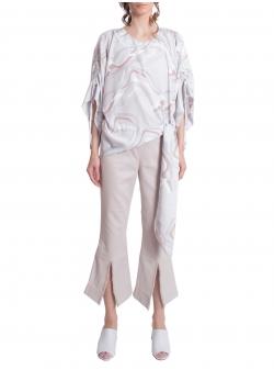Pantaloni evazati din denim Constantine - Renakossy