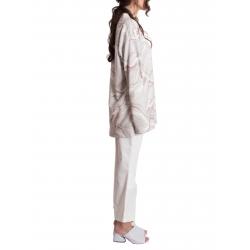 Pantaloni albi din denim Constantine - Renakossy