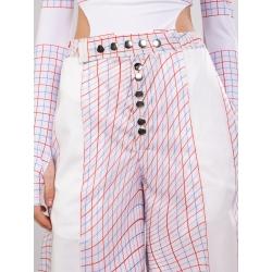 Pantaloni evazati cu talie inalta Diana Maria