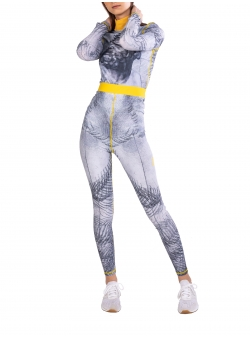 Grey leggins Second Skin Diana Marin