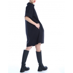 Rochie tricou neagra Silvia Serban