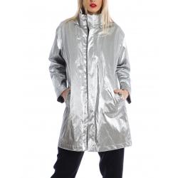 Unisex silver jacket Silvia Serban