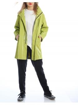 Green unisex jacket Silvia Serban