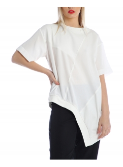 White asymmetric top Silvia Serban