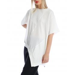White asymmetric top Silvia Serban