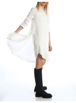 Rochie camasa din tencel Silvia Serban