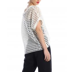 White net top Silvia Serban