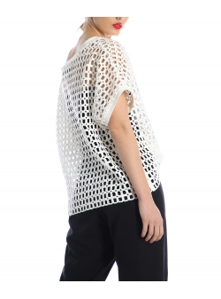 White net top Silvia Serban
