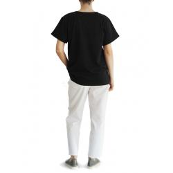 Black oversized tshirt Rune Daring Trash