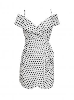 Mini polka dot dress Bubbly Parlor