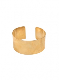 Wide brass cuff bracelet Mesteshukar Butiq