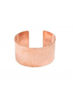 Wide copper cuff Mesteshukar Butiq