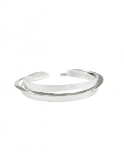Silver cuff bracelet Roma Mesteshukar Butiq
