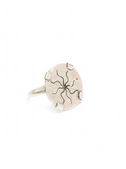 Sun silver ring Mesteshukar Butiq