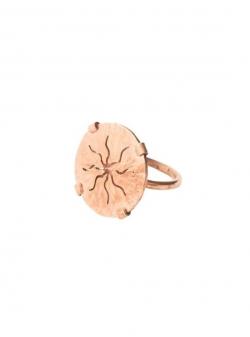 Sun copper ring Mesteshukar Butiq