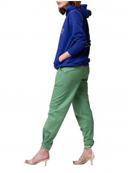 Blue oversized hoodie Self Love Andrea Szanto
