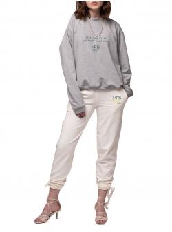 Grey sweatshirt Eat Small Drink Water Andrea Szanto
