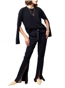 Black jersey blouse Fantasy Andrea Szanto