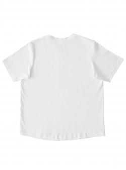 White cotton T-shirt The Happy T Andrea Szanto