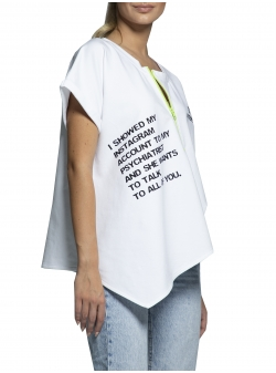 Jumatate stanga de tricou Instagram Morphing Dose
