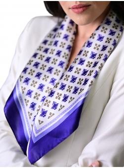 Silk scarf Acvila Bicefala Rozmarin Concept