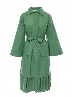 Rochie camasa verde inchis Larisa Dragna