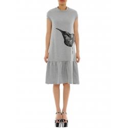 Rochie din bumbac cu imprimeu Daisy Ioana Ciolacu