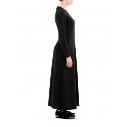 Rochie neagra lunga Nicoleta Obis