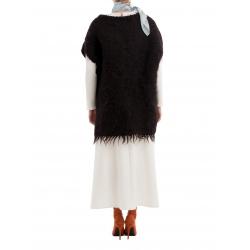 Capa neagra din lana Nicoleta Obis