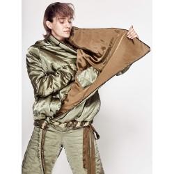 Olive Slicker Jacket